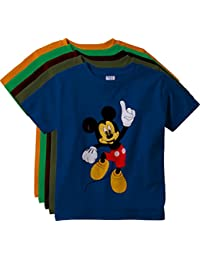 KGB Multicoloured Embroidered t Shirts for Boys