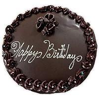 Ferns 'N' Petals Dark Chocolate Half kg Eggless| Birthday Cake| Anniversary Cake|Next Day Delivery