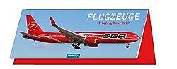 """Wochenplaner """"Flugzeuge"""" 2019 Tischkalender Notizkalender Wochenkalender"""