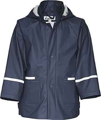 Playshoes Unisex - Baby Regenbekleidung 408638 Regenjacke Basic, Gr. 74, Blau (11 marine)