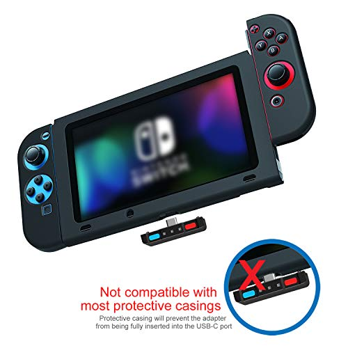 eb6e59c59fff34 Trasmettitore audio Bluetooth compatibile per Nintendo interruttore