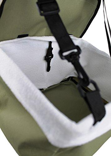 Auto Hundetasche Haustier Katzen Autositz Tragetasche Transporttasche Sicherheit - 5