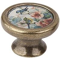 Homyl Vintage Möbelknopf Kommodenknöpfe mit Schraube - #5
