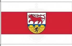 Bannerflagge Landkreis Oberspreewald-Lausitz - 120 x 300cm - Flagge und Banner