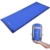 Toots Compacto Saco de Dormir, Impermeable y Ultraligero,  Para 8-15 Grados Primavera, Verano y Otoño Camping Al Aire Libre (Blue)