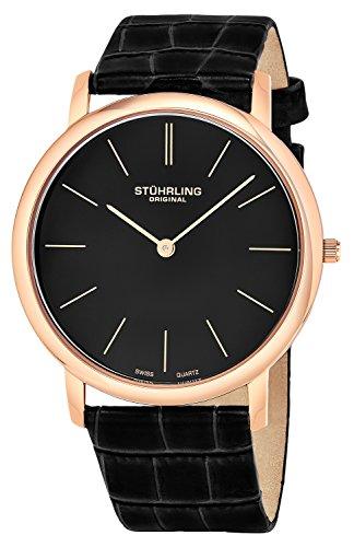 Stuhrling Original Analog Black Dial Men's Watch - 601.3345K1