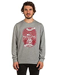 Sweat Element Anonymous Cr - Grey Heather-Gris