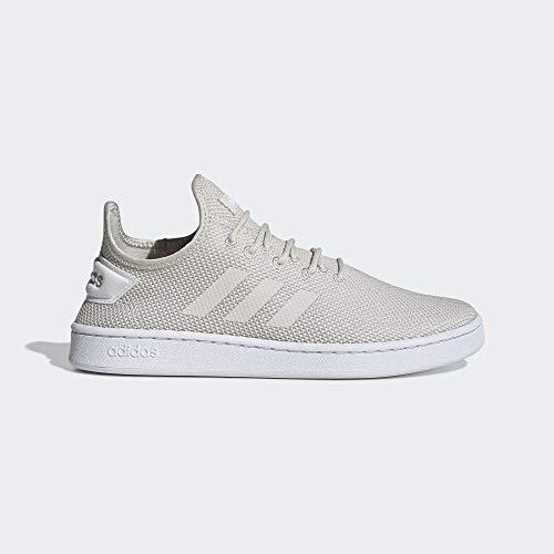 adidas Performance Court Adapt Sneaker Herren beige/weiß, 9 UK - 43 1/3 EU - 9.5 US