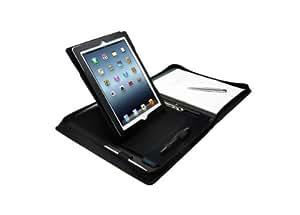 Kensington Trio Etui Folio pour New iPad et iPad 2 Noir
