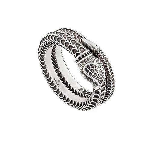 Gucci Garden Ring Snake Unisex, Silber - Größe 14
