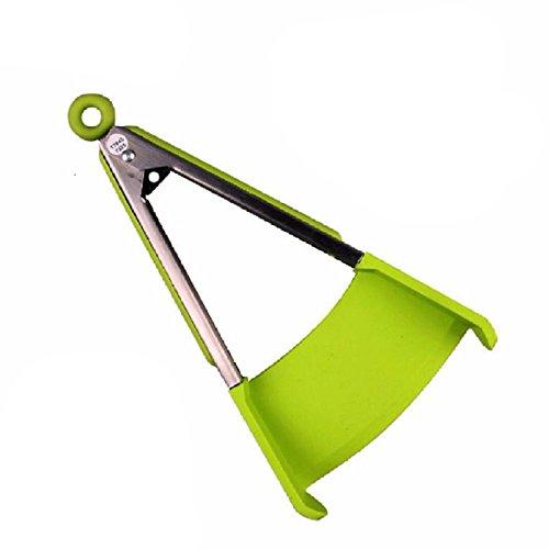 SHUFAGN,Set Smart Zangen-Küchenwischer und Antihaft-Pfanne Hitzebeständig 2-in-1(color:JADEGRÜN)
