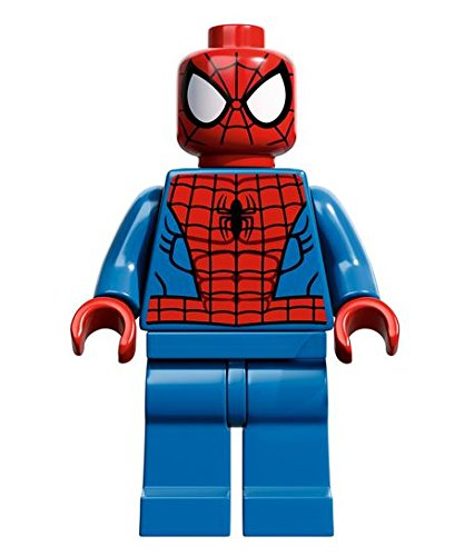 LEGO Super Heroes: Spiderman (Black Web Pattern) Minifigure