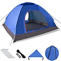 XDDIAS Instant Automatic Pop Up Tent, Portable Beach Tent, Outdoor Sun Shelter With Carry Bag UV Protection suitable for Family Garden/Camping/Fishing/Beach, 200x200x150cm