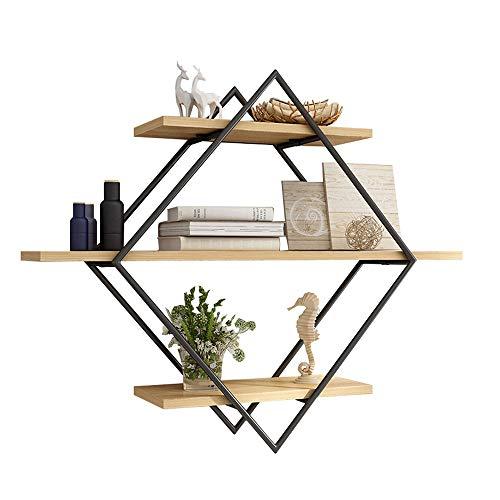 TIANKONG Stahlrahmen zur Wandmontage, modernes minimalistisches Schlafzimmerregal, Ausstellungsständer für Studienzwecke, für Arbeitszimmer geeignet (Color : A) (Halskette Hanger Wandhalterung)