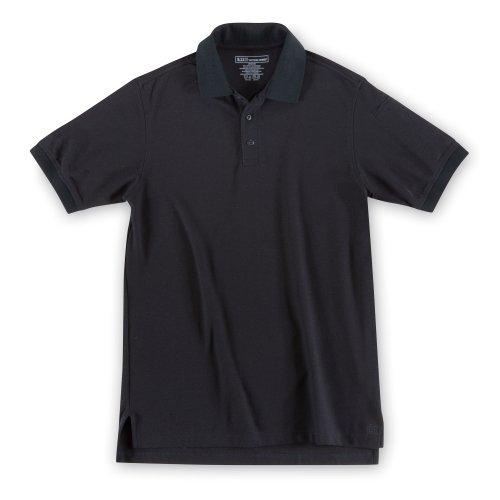 5.11Herren Utility Polo Short Sleeve Shirt, Herren, schwarz, XL/Tall -