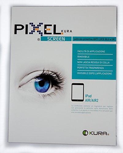 PIXEL SCREEN, PELLICOLA IPAD AIR - ANTI LUCE BLU & UV ,ANTI GRAFFIO, NO BOLLE, TEST UNIV. DI TORINO