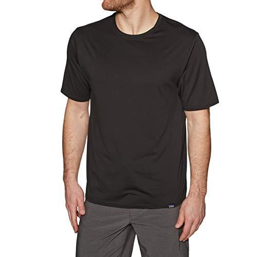 Capilene Shirt Für Herren (Patagonia Herren M's Cap Cool Daily Shirt Hemd, schwarz, L)
