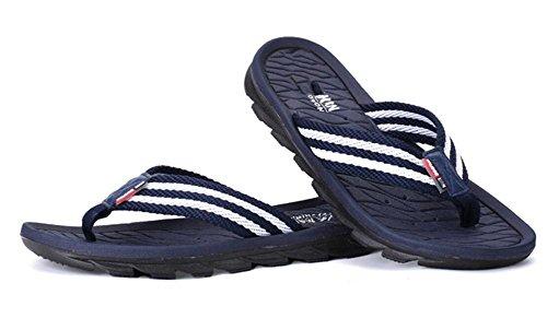 2017 i nuovi pattini a righe di striscia di estate tessono i sandali della spiaggia di sabbia della cima delle cinture 2