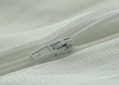 Beliani Sitzsack mit Innensack für In- und Outdoor 140 x 180 cm weiß