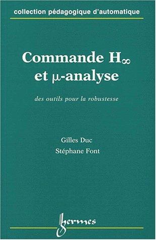 Commande H infini et mu-analyse par Gilles Duc