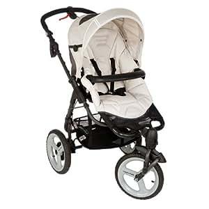 B b confort poussette 3 roues high trek full oxygen cream - Chambre a air poussette bebe confort high trek ...