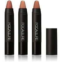 conjunto de barra de labios Sannysis 3pcs lápiz labial mate lápiz de color