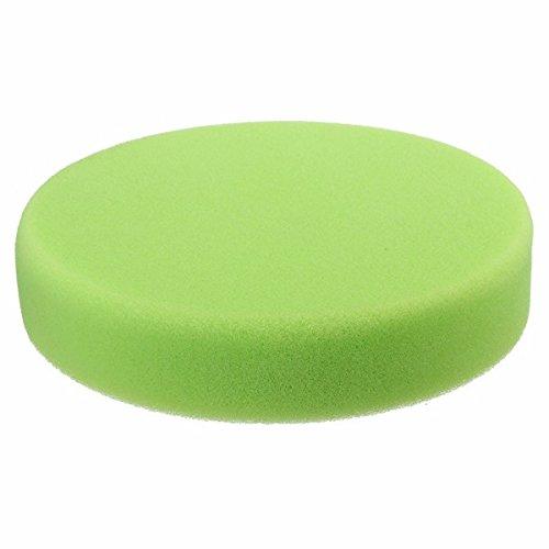 ChaRLes 6 Zoll-Flache Schwamm-Polierscheibe Buffs Für Auto-Poliermittel - Grün