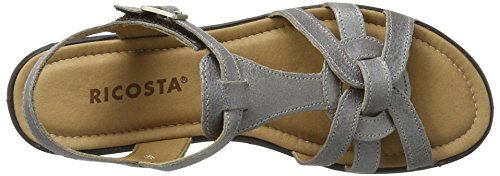 Ricosta Birte, Sandales  Bout ouvert femme Marron (taupe)