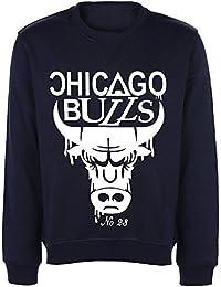 auf f r chicago bulls pullover damen bekleidung. Black Bedroom Furniture Sets. Home Design Ideas