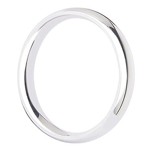 SODIAL (R) 4 millimetri anello colore d