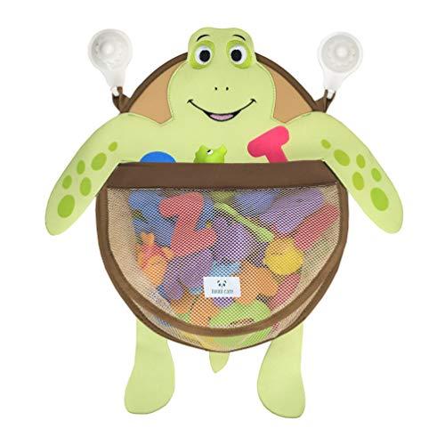 Nooni Care Bad Spielzeug Aufbewahrung, Premium Kinder Bad Spielzeugkorb Schildkröte, mit Zwei starken Saugnäpfen (Bad Spielzeug Organizer)