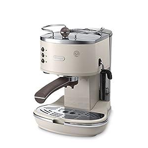 De'Longhi Icona Vintage ECOV 311.BG Macchina da Caffè Espresso Manuale e Cappuccino, Caffè in Polvere o in Cialde E.S.E., 1100 W, Beige 1 spesavip