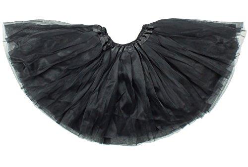 Dancina Mädchen Tüllrock Tutu Ballettrock Classic 2-7 Jahre (Kostüme Tinkerbell Mädchen Baby)