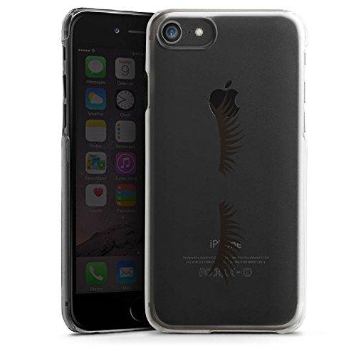 Apple iPhone 7 Plus Silikon Hülle Case Schutzhülle Lashes Wimpern ohne Hintergrund Hard Case transparent