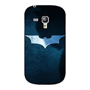 Special Premier Blue Knight Multicolor Back Case Cover for Galaxy S3 Mini