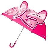 Playshoes 4010952164367 Regenschirm Schmetterling, circa 70 cm