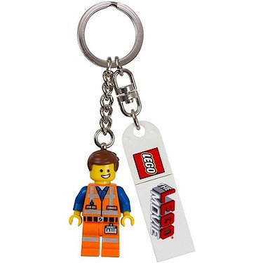 Lego The Movie Schlüsselanhänger - Emmet [UK Import] (Lego Movie Emmet)