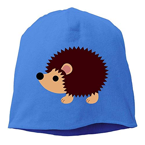 Headscarf Cute Hedgehog Hip-Hop Knitted Hat hombres