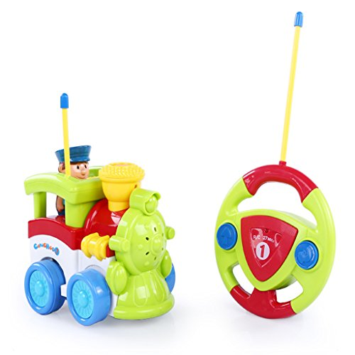 Juguete de Remoto de Coche Tren Para Niños de 3 Años+, El Color Puede Variar