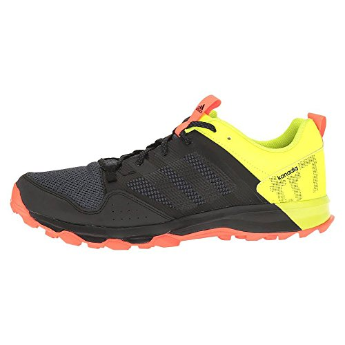 Adidas Outdoor 2015 Kanadia 7 Trail Running Shoe - S83258 (nero / nero / giallo solare - 8) Black/Black/Solar Yellow