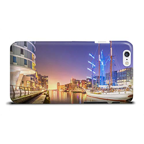artboxONE Apple iPhone 6 Premium-Case Handyhülle Sandtorhafen II von Jan Hartmann