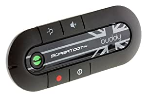 SuperTooth Buddy Handsfree Bluetooth Visor Car Kit - Union Jack