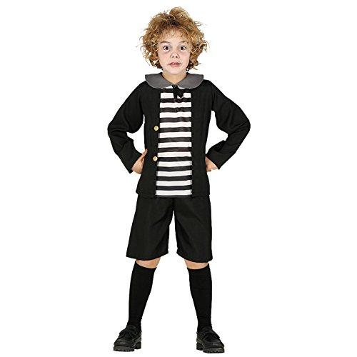 Spukender Junge Pugsely Addams Family Halloween Kostüm Kinder -
