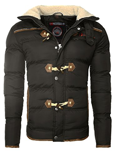 Geographical Norway - Chaqueta - para Hombre Gris Oscuro Large