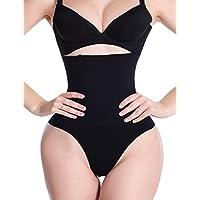 ZAIQUN Women Shape High-waisted shaping control thong with flat tummy effect