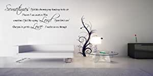 Large Love Quote Vinyl Wall Art Decal Graphic Sticker