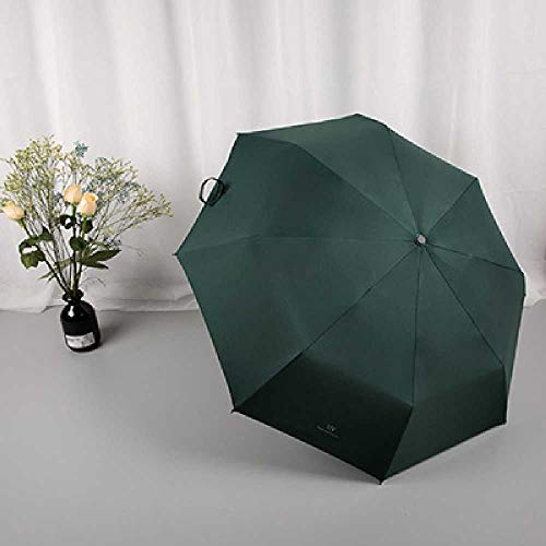 CFSN Regenschirme, Klarer Regen, Zwei Sonnenbrillen. 98cm/Dreifach/Tiefgründung