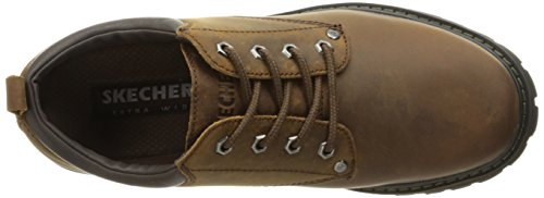 Skechers Oxford Marrone Tom Gatti Homme Scuro rqfErp1