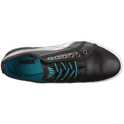Puma 350533 01 Crete Lo L Mix Wn's, Damen Sneaker Schwarz (Black-White)