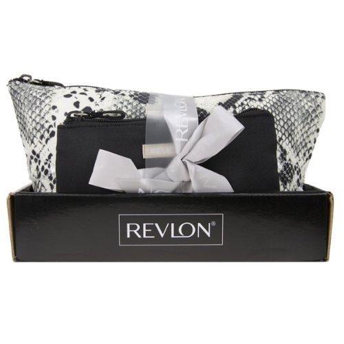 revlon-2-piece-tote-bag-snake-skin-gift-set